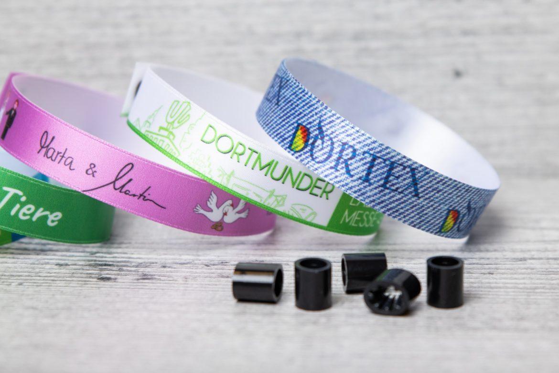 DORTEX bringt individualisierbare Eventarmbänder auf den Markt