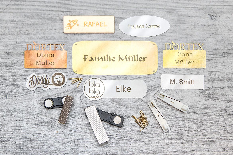 Etiketten aus Metall: DORTEX erweitert sein Geschäftsfeld