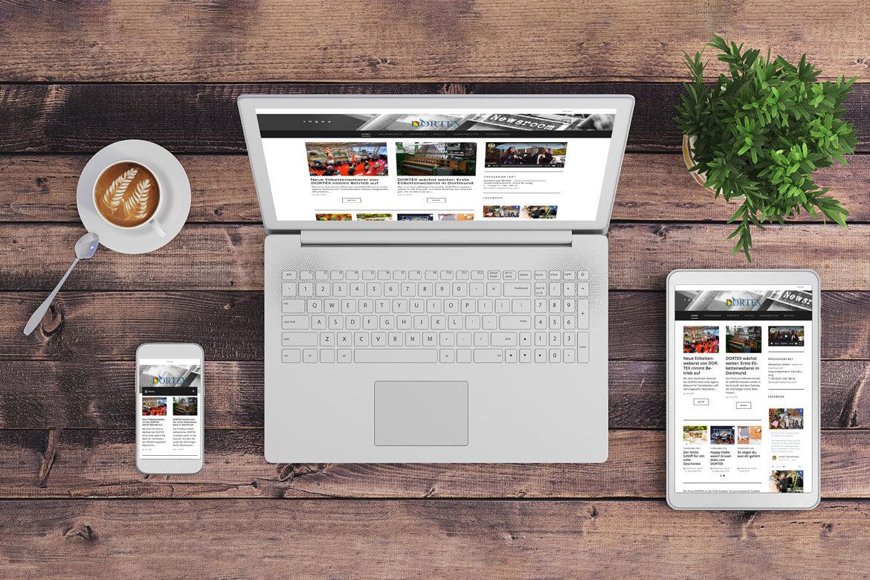 Der neue DORTEX Newsroom ist online