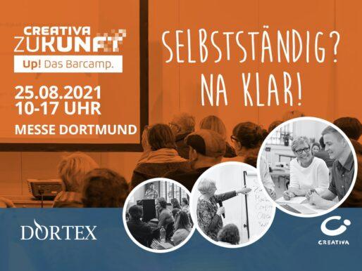"""""""Start & Create"""": CREATIVA und DORTEX richten Barcamp aus"""